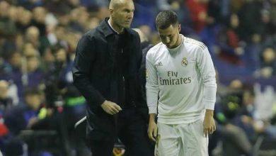 Photo of مصادر داخل ريال مدريد.. إصابة هازارد ليست بسيطة!