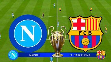 صورة موعد مباراة برشلونة ونابولي والقنوات الناقلة في دوري أبطال أوروبا