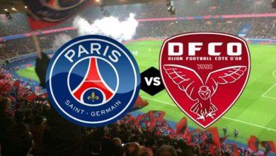 Photo of موعد مباراة باريس سان جيرمان وديجون والقنوات الناقلة