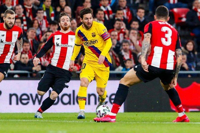 Photo of كأس ملك إسبانيا | سيرجيو بوسكيتس يقصى برشلونة ويتأهل بنادي أتلتيك بيلباو