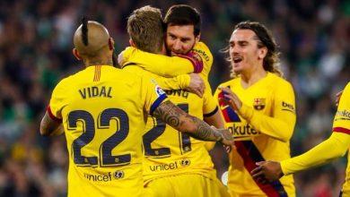 صورة تشكيل برشلونة الرسمي لمواجهة إيبار في الدوري الإسباني
