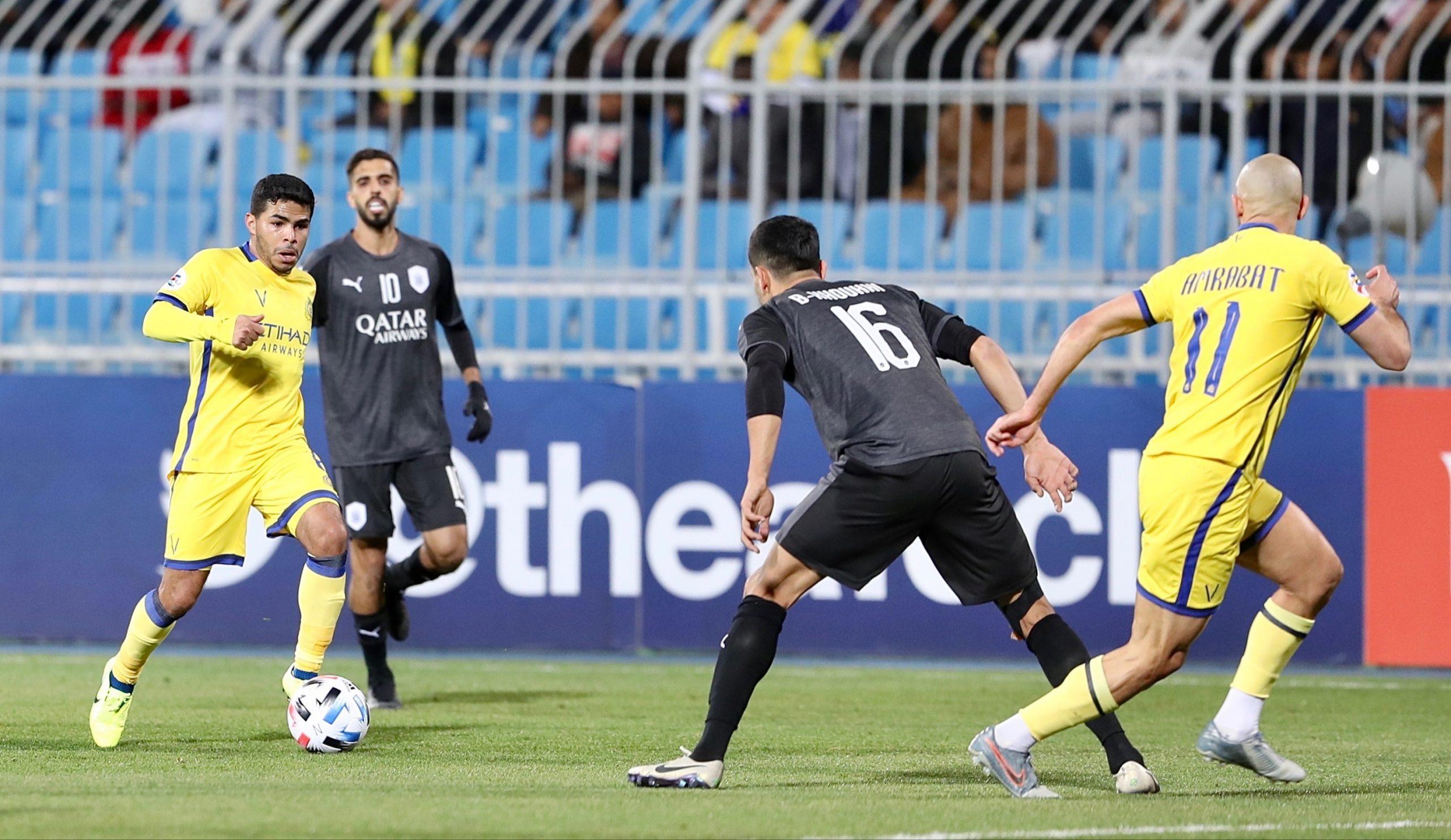 التعادل يحسم موقعة النصر في دوري أبطال آسيا