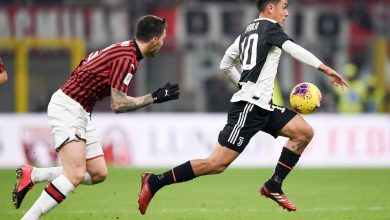 Photo of رونالدو يخطف تعادلا ثمينا ليوفنتوس أمام ميلان في نصف نهائي كأس إيطاليا