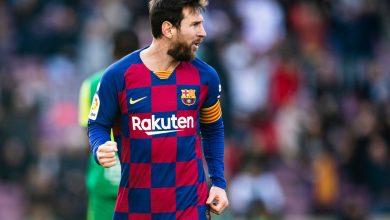 صورة الدوري الإسباني| ميسي سوبر هاتريك.. برشلونة يسحق إيبار بخماسية