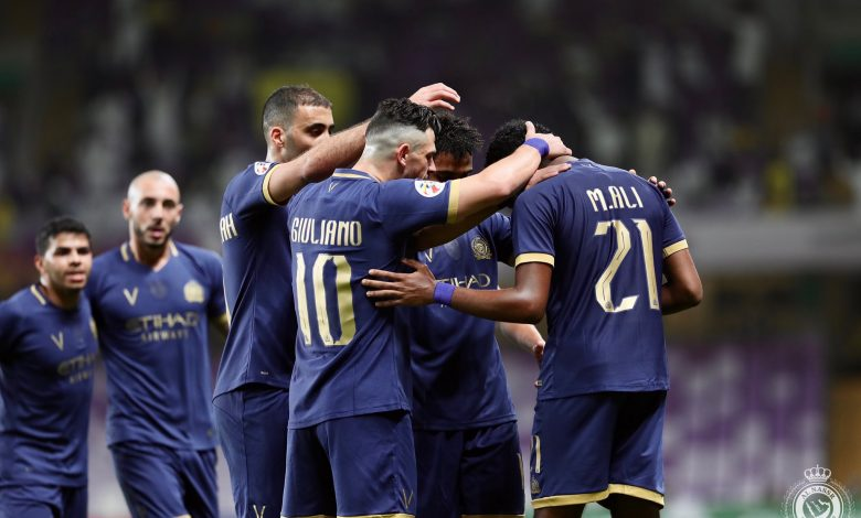 صورة الدوري السعودي  النصر يفلت من السقوط أمام الأهلي
