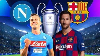صورة التشكيل المتوقع لمباراة برشلونة ونابولي في دوري أبطال أوروبا