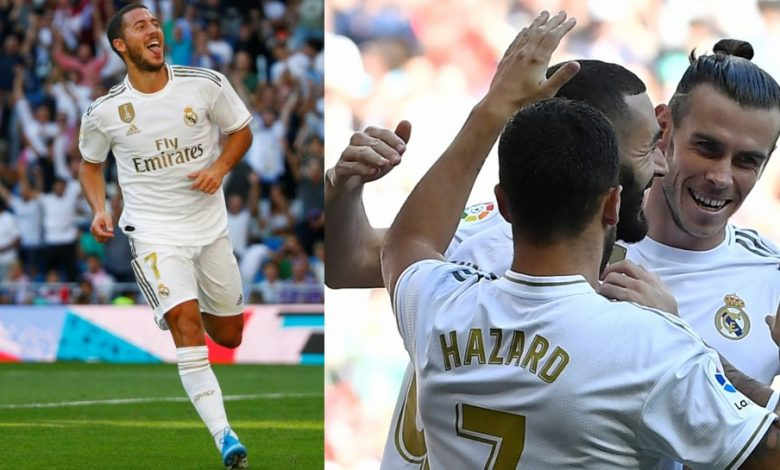 Photo of هازارد يمنع لاعبي ريال مدريد من الاحتفال بالأهداف!