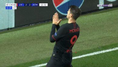 Photo of هدف اتليتكو مدريد الثالث في مرمى ليفربول 3-2 دوري ابطال اوروبا