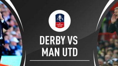 صورة تشكيل مانشستر يونايتد المتوقع أمام ديربي كاونتي في كأس الاتحاد