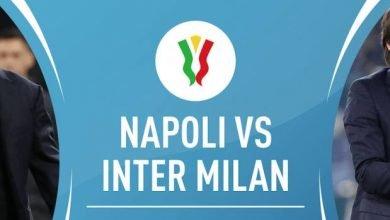 Photo of التشكيلة المتوقعة لمباراة نابولي وانتر ميلان في كأس إيطاليا