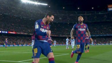 صورة ملخص مباراة برشلونة وريال سوسيداد في الدوري الاسباني