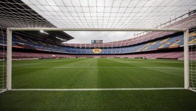 صورة عاجل | إقامة مباراة برشلونة ونابولي خلف الأبواب المغلقة