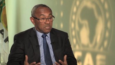 رئيس الاتحاد الأفريقي لكرة القدم أحمد أحمد