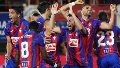 صورة نادي إيبار قلق من استكمال الدوري الإسباني