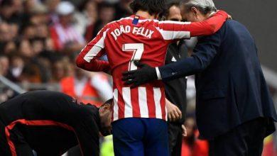 Photo of أتليتكو مدريد يعلن إصابة لاعبه جواو فيليكس