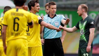 صورة الدوري الألماني | بوروسيا دورتموند يضرب فولفسبورج بثنائية