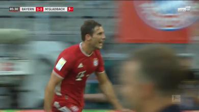 صورة اهداف بايرن ميونيخ وبروسيا مونشنغلادباخ 2-1 الدوري الألماني