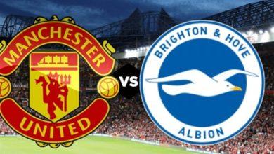 صورة موعد مباراة برايتون ومانشستر يونايتد في الدوري الإنجليزي والقنوات الناقلة