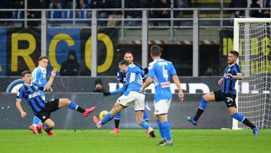 صورة تاريخ مواجهات نابولي وإنتر ميلان في كأس إيطاليا