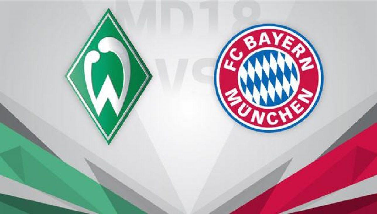 موعد مباراة بايرن ميونيخ ضد فيردر بريمن يوم الثلاثاء والقنوات الناقلة بالجول
