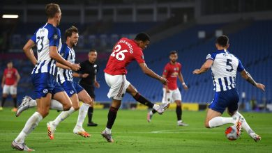 Photo of هدف مانشستر يونايتد الاول في مرمى برايتون 1-0 الدوري الانجليزي