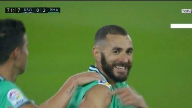 Photo of هدف كريم بنزيما في مرمى ريال سوسيداد 2-0 الدوري الاسباني