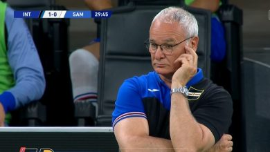 صورة اهداف مباراة انتر ميلان وسامبدوريا 2-1 الدوري الايطالي