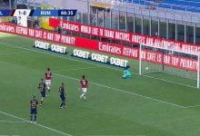 صورة اهداف مباراة ميلان 2-1 روما في الدوري الايطالي