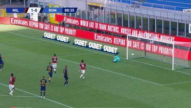 Photo of اهداف مباراة ميلان 2-1 روما في الدوري الايطالي