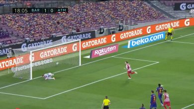 Photo of هدف اتليتكو مدريد في مرمى برشلونة 1-1 الدوري الاسباني