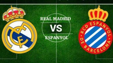 Photo of موعد مباراة إسبانيول وريال مدريد في الدوري الإسباني والقنوات الناقلة