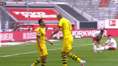 صورة اهداف مباراة بروسيا دورتموند ودوسلدورف 1-0 الدوري الألماني