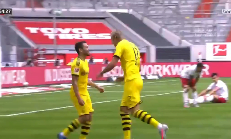 Photo of اهداف مباراة بروسيا دورتموند ودوسلدورف 1-0 الدوري الألماني