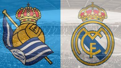 صورة بث مباشر – مباراة ريال مدريد وريال سوسيداد في الدوري الاسباني اليوم