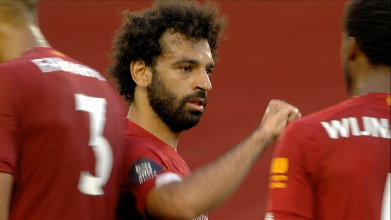 Photo of جول محمد صلاح يوم الأربعاء ضد كريستال بالاس الدوري الانجليزي