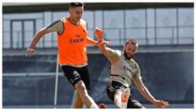 صورة ناتشو يعود للتدريب ريال مدريد
