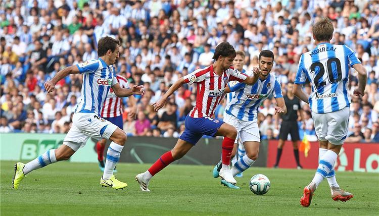 أتلتيكو مدريد وريال سوسييداد