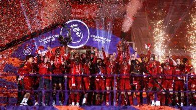 احتفالات ليفربول باللقب