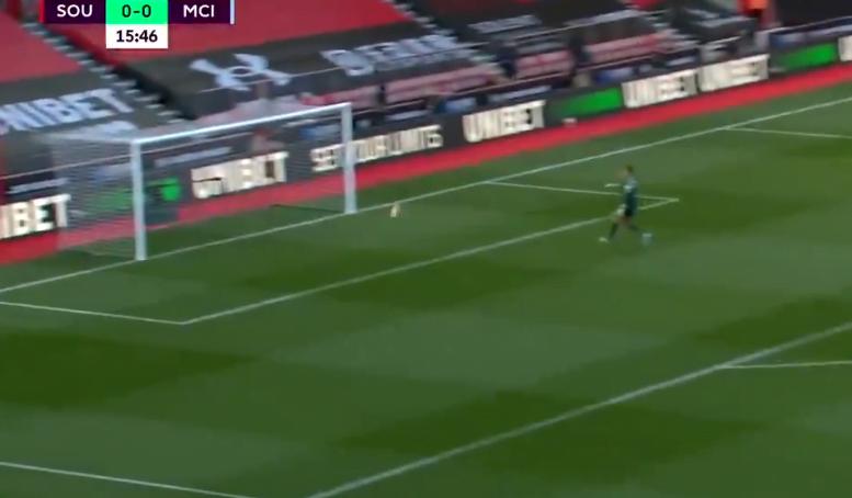 صورة هدف ساوثهامبتون العالمي في مرمى مانشستر سيتي 1-0 الدوري الانجليزي