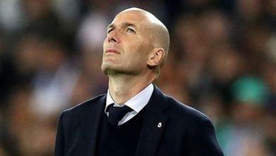 صورة ضربة قوية على رأس زيدان قبل مواجهة ريال مدريد وهويسكا