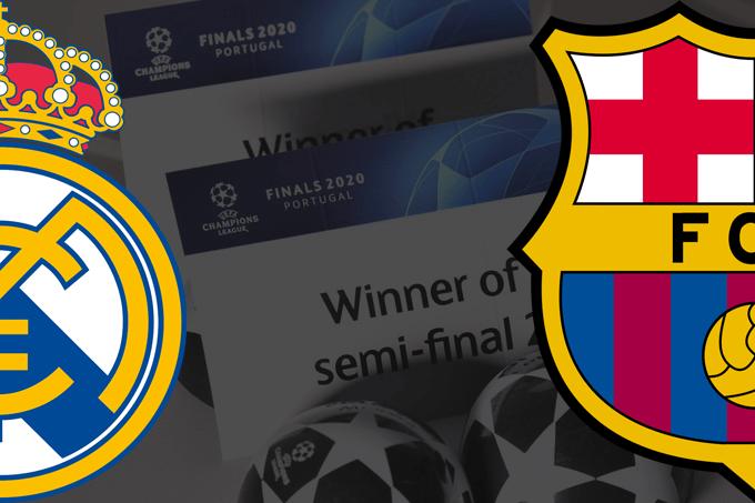 Photo of حظوظ ريال مدريد وبرشلونة في بلوغ نهائي دوري أبطال أوروبا