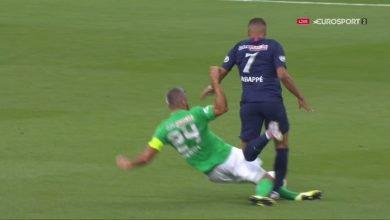 Photo of اصابة مبابي الخطيرة في مباراة باريس سان جيرمان وسانت ايتيان