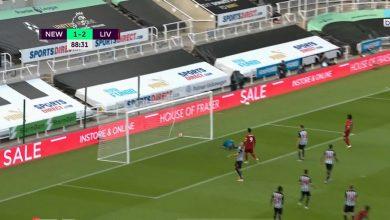 صورة هدف ساديو ماني في مرمى نيوكاسل يونايتد 3-1 الدوري الانجليزي