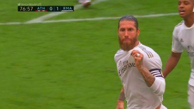 صورة اهداف مباراة ريال مدريد واتلتيك بلباو 1-0 الدوري الاسباني