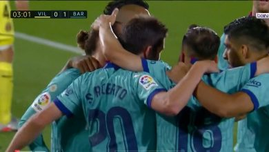 صورة هدف جريزمان في مرمى فياريال 1-0 الدوري الاسباني