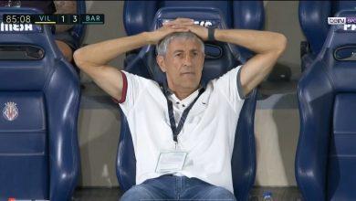صورة اهداف مباراة برشلونة وفياريال 4-1 الدوري الاسباني