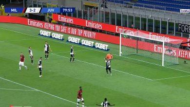 Photo of هدف ميلان الرابع في مرمى يوفنتوس 4-2 تعليق حفيظ دراجي