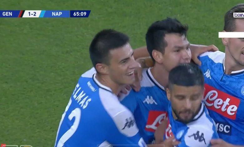 Photo of اهداف مباراة نابولي وجنوى 2-1 الدوري الايطالي