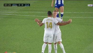 صورة اهداف مباراة ريال مدريد والافيس 2-0 الدوري الاسباني