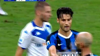 صورة اهداف مباراة انتر ميلان وبريشيا 6-0 الدوري الايطالي